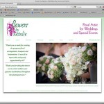 web design Flowers by Natalie