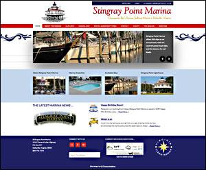 stingraypointmarina.com