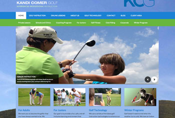 kandi comer golf website